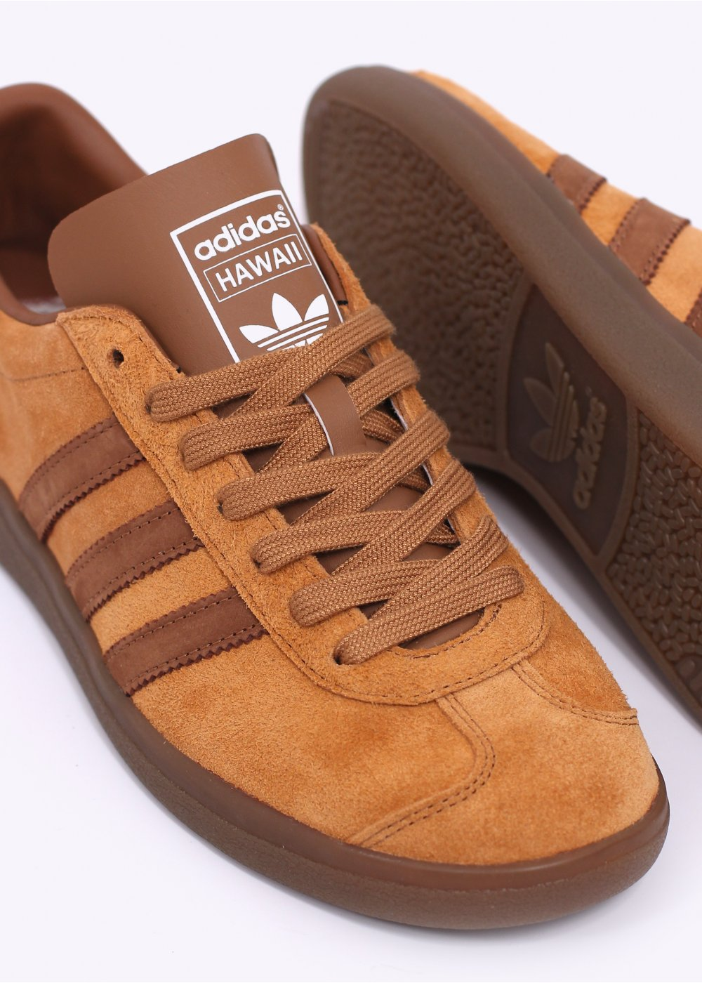 Adidas Originals Brown Trainers
