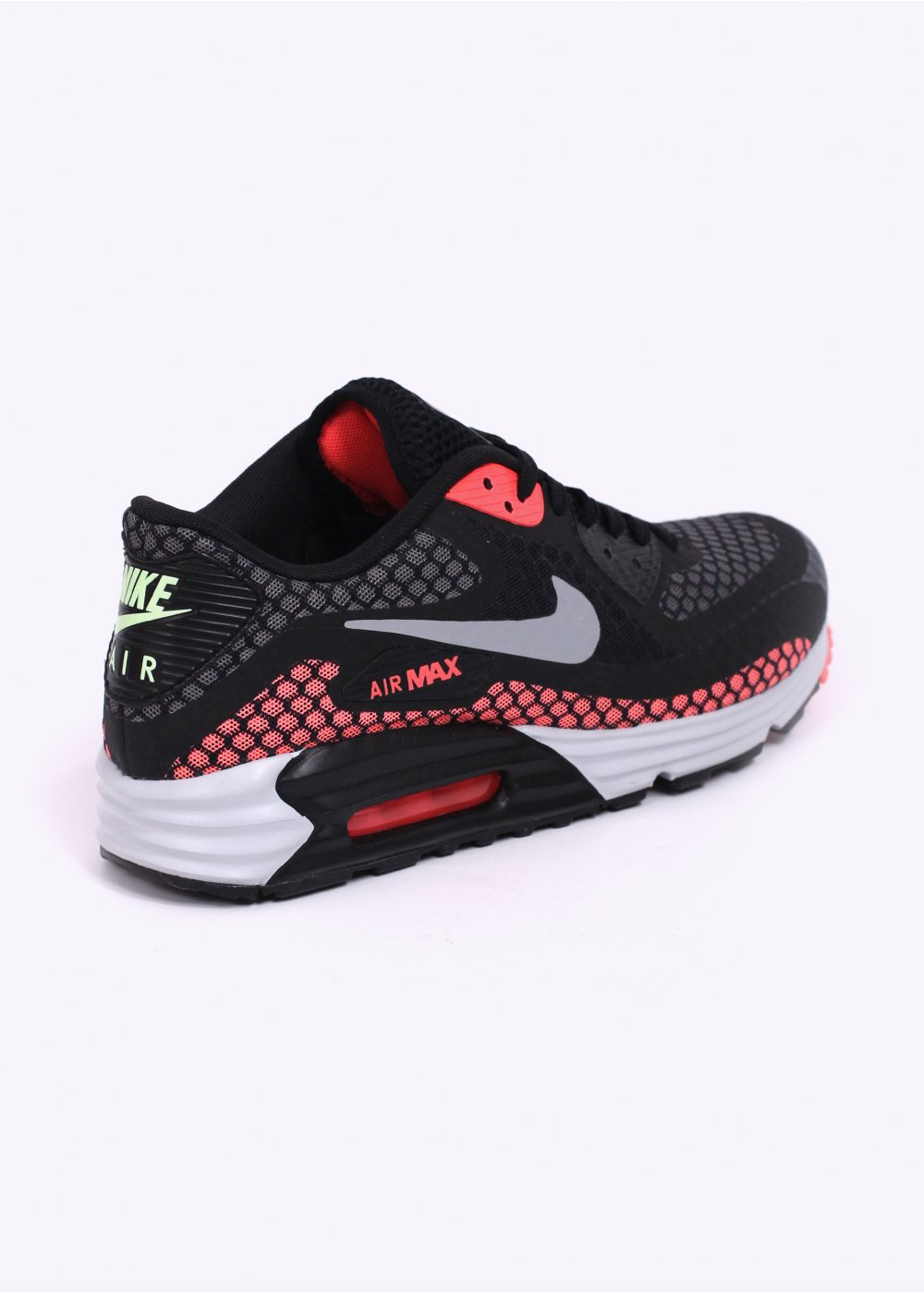 nike air max lunar 90 br trainers black lava. Black Bedroom Furniture Sets. Home Design Ideas