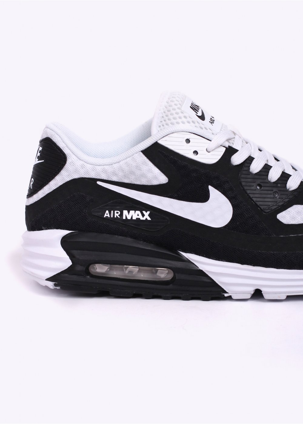 nike air max lunar 90 br trainers black white. Black Bedroom Furniture Sets. Home Design Ideas