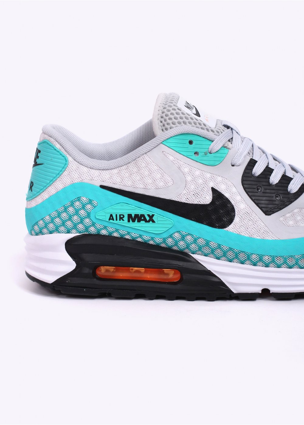 nike air max lunar 90 br trainers platinum blue. Black Bedroom Furniture Sets. Home Design Ideas