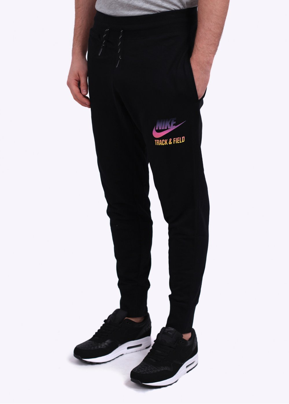 nike sportswear slim cuff pant black. Black Bedroom Furniture Sets. Home Design Ideas