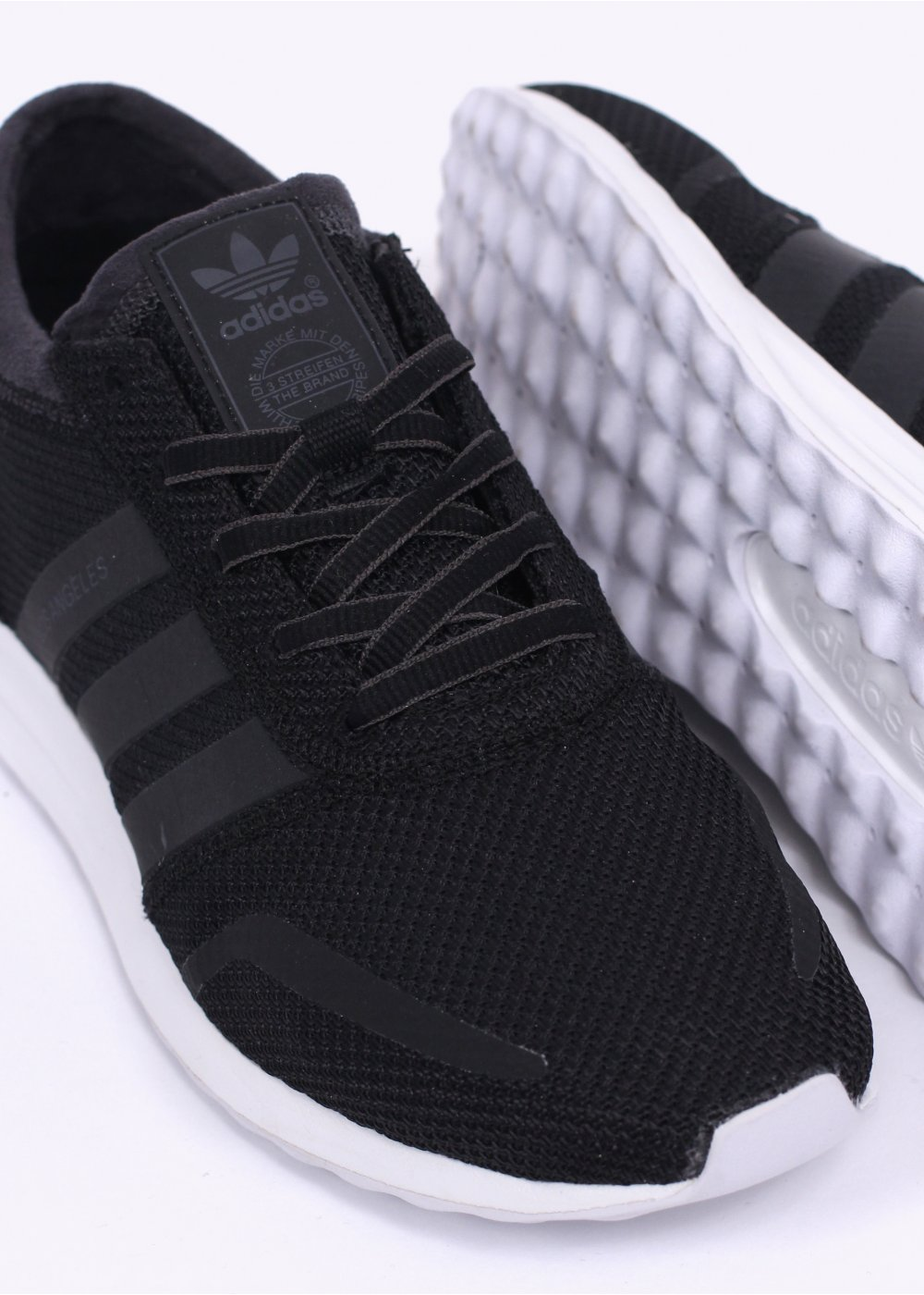 Adidas Originals Originals Top Ten Low Sneaker In Black: Adidas Originals Los Angeles Trainers