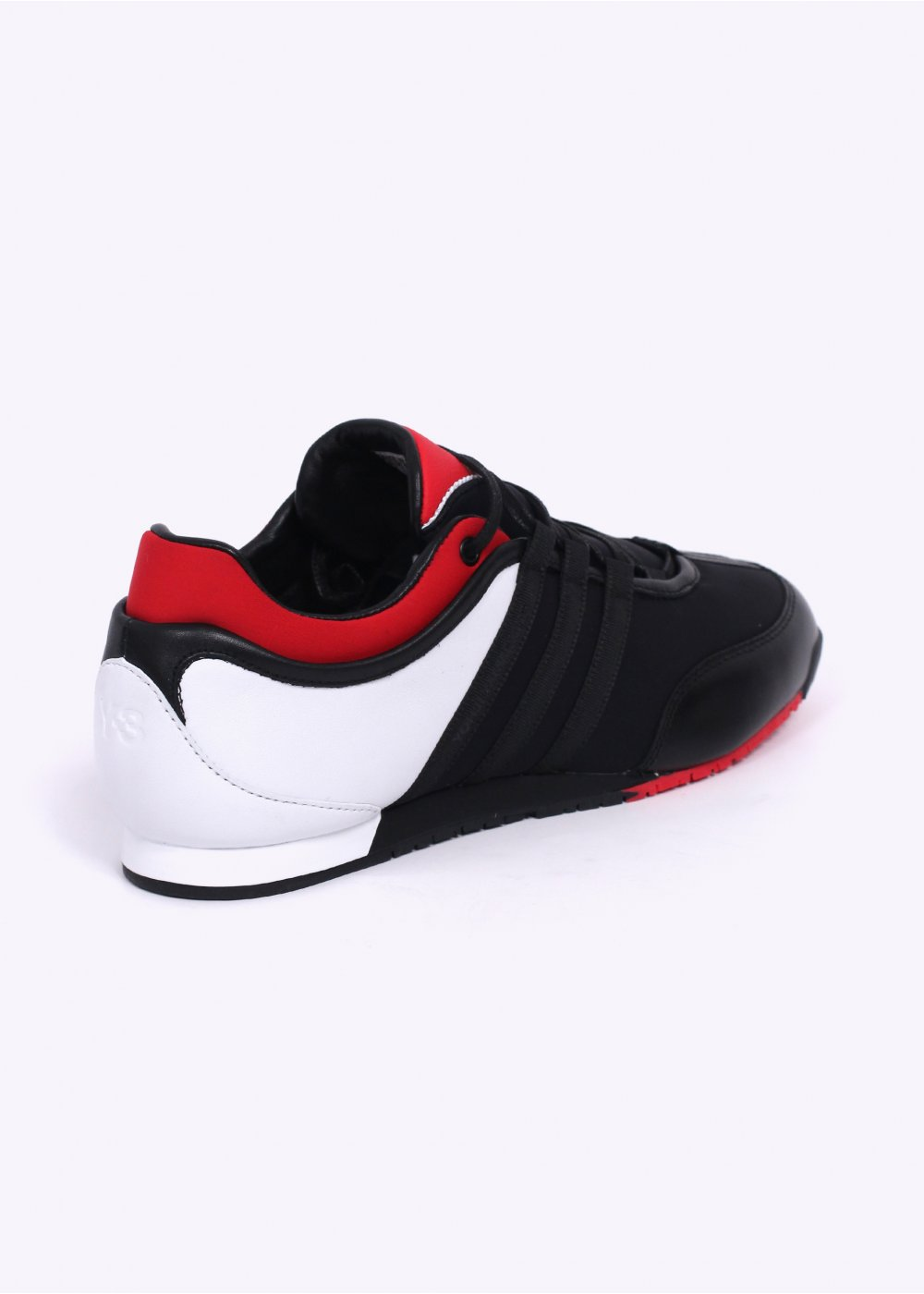 adidas y 3 boxing trainers black red. Black Bedroom Furniture Sets. Home Design Ideas