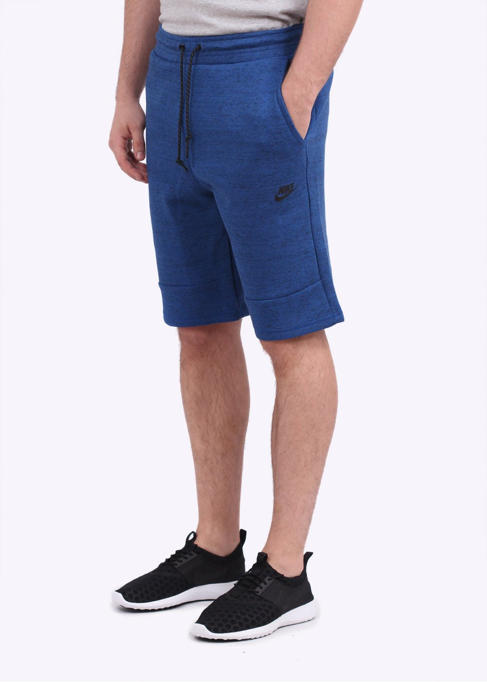 nike tech fleece shorts game royal blue. Black Bedroom Furniture Sets. Home Design Ideas