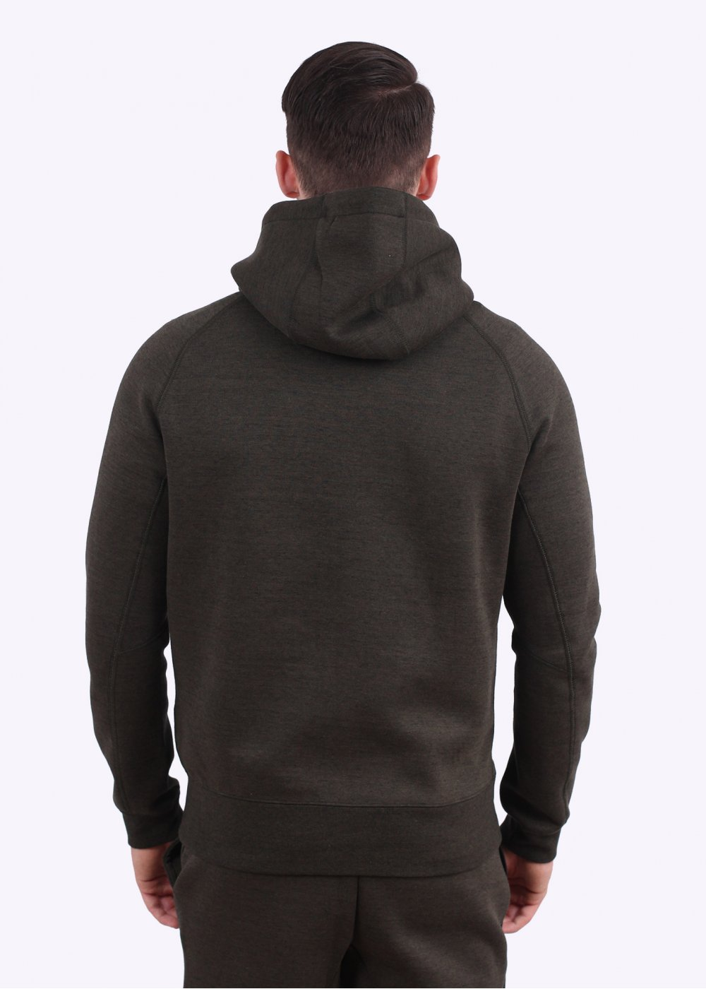 nike tech fleece aw77 hoody dark green. Black Bedroom Furniture Sets. Home Design Ideas