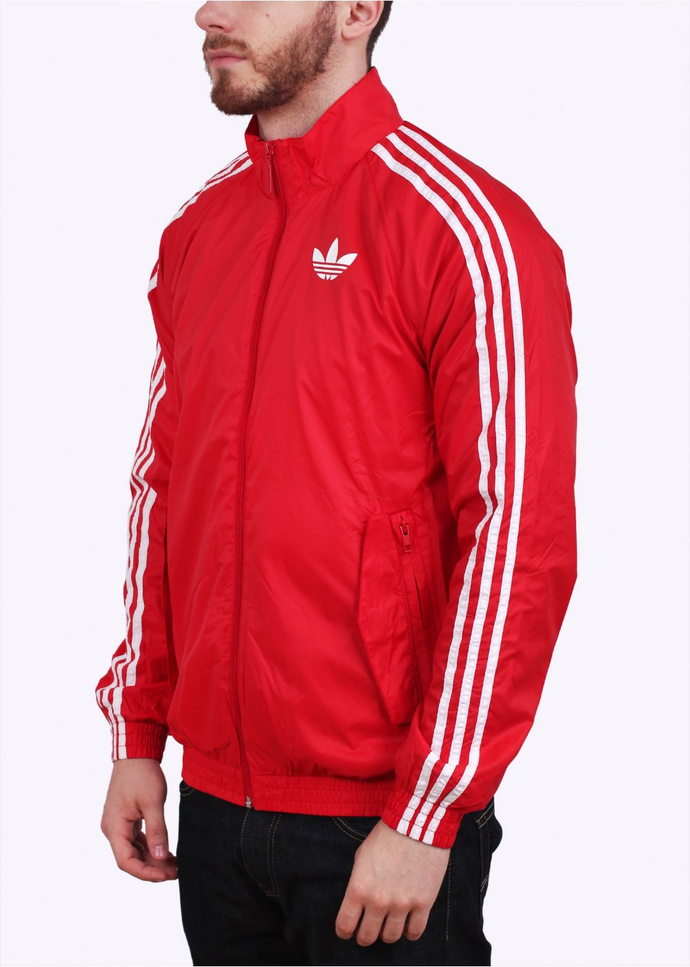 adidas originals sst windbreaker scarlet red. Black Bedroom Furniture Sets. Home Design Ideas