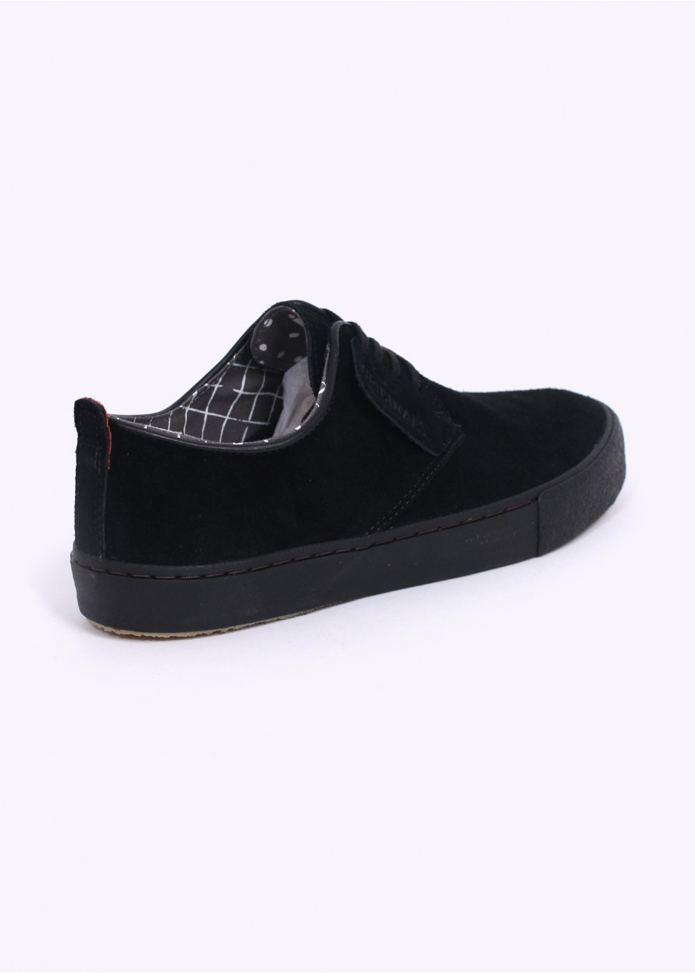Clarks Desert Vulc Black Suede Shoes