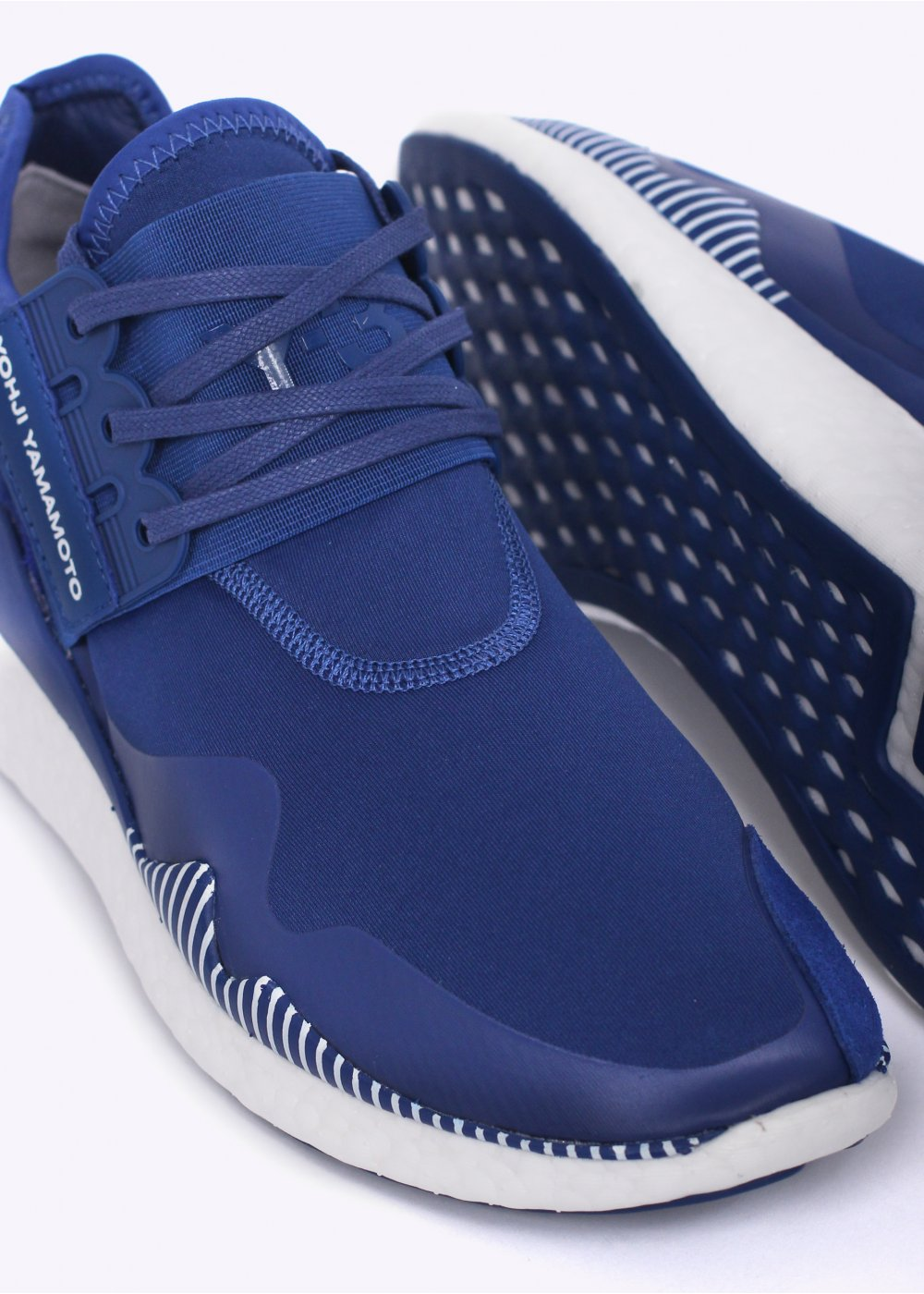 adidas y 3 retro boost trainers roundel blue. Black Bedroom Furniture Sets. Home Design Ideas