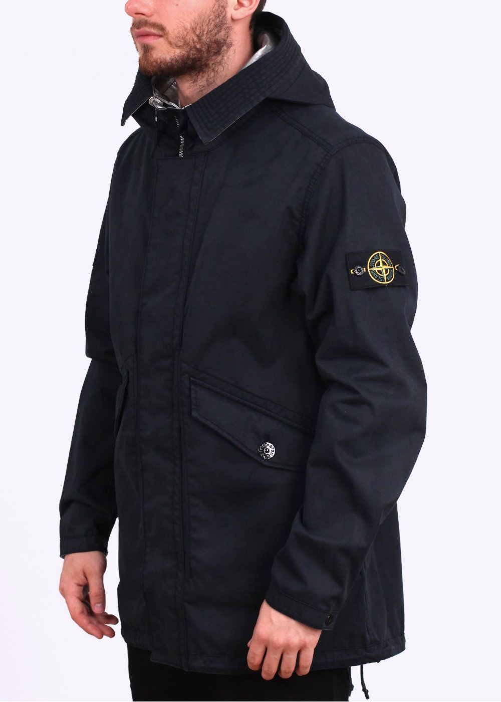 stone island jacket parka garden house lazzerini. Black Bedroom Furniture Sets. Home Design Ideas