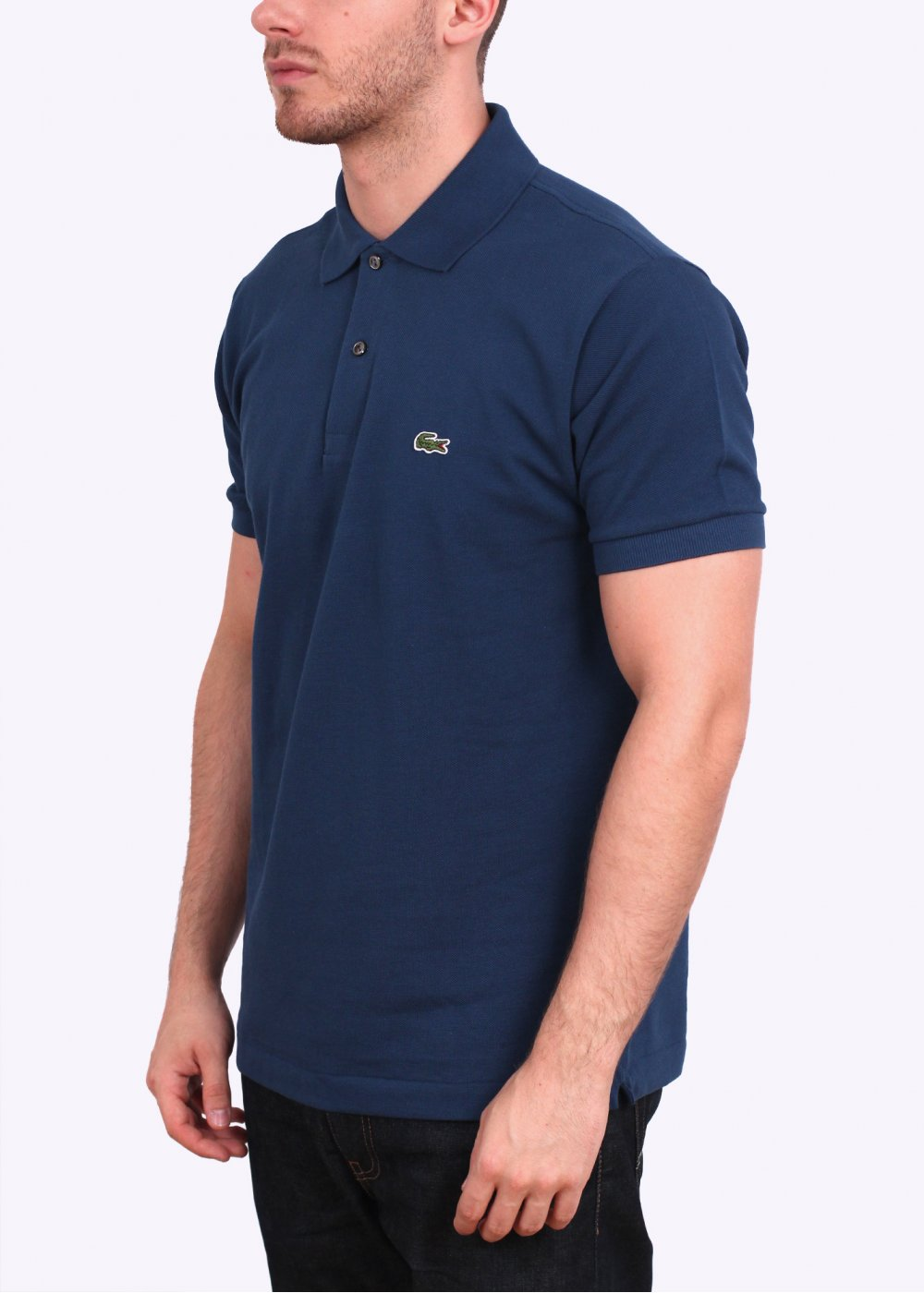 Lacoste short sleeve logo polo shirt philippines blue for Lacoste poloshirt weiay