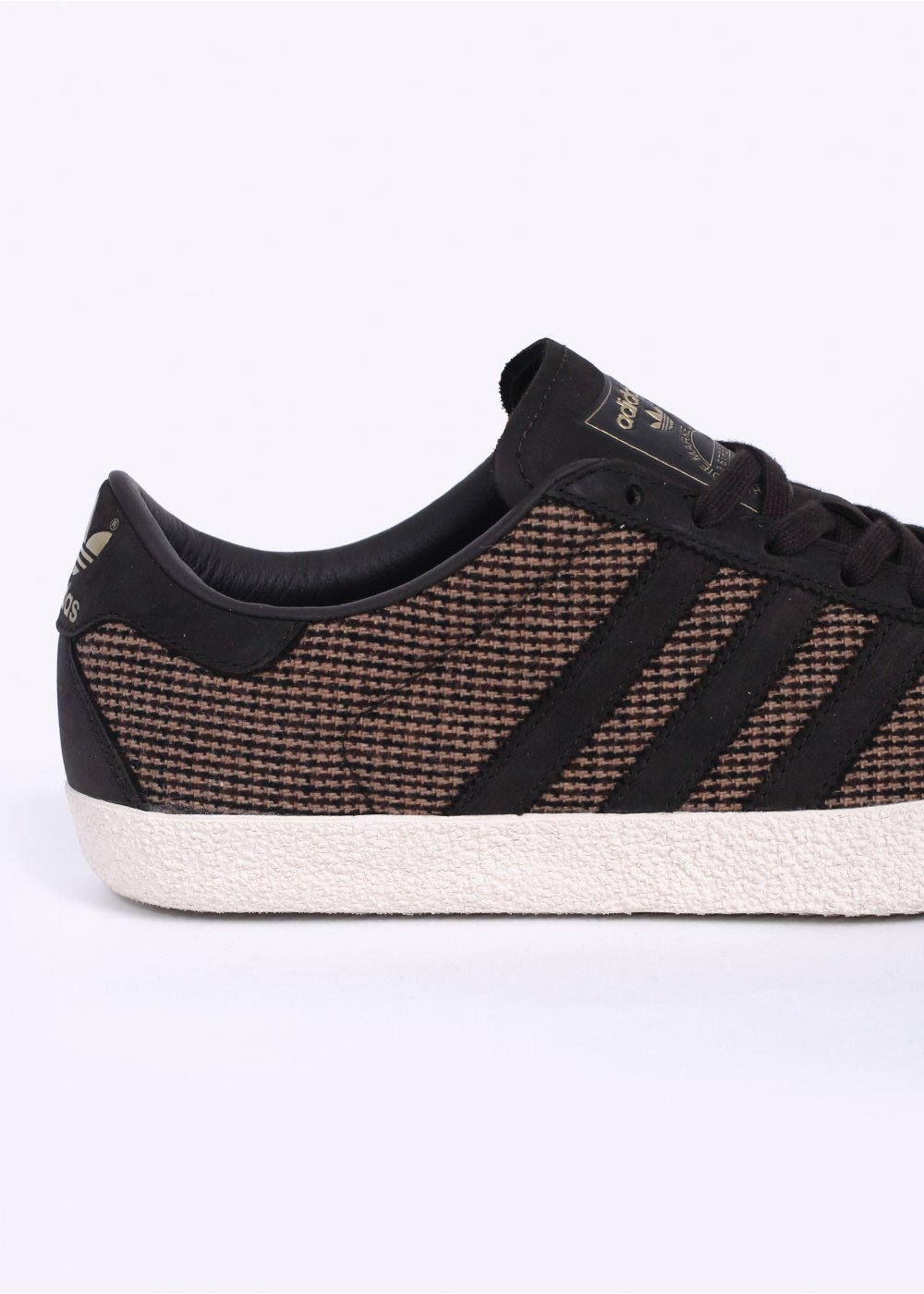 adidas 70s gazelle tweed grey