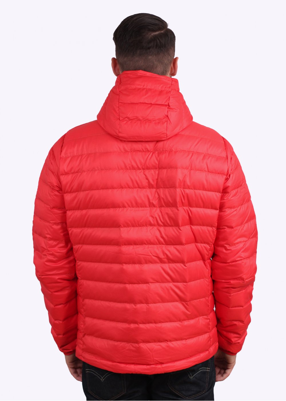 Patagonia Down Sweater Hooded Jacket French Red