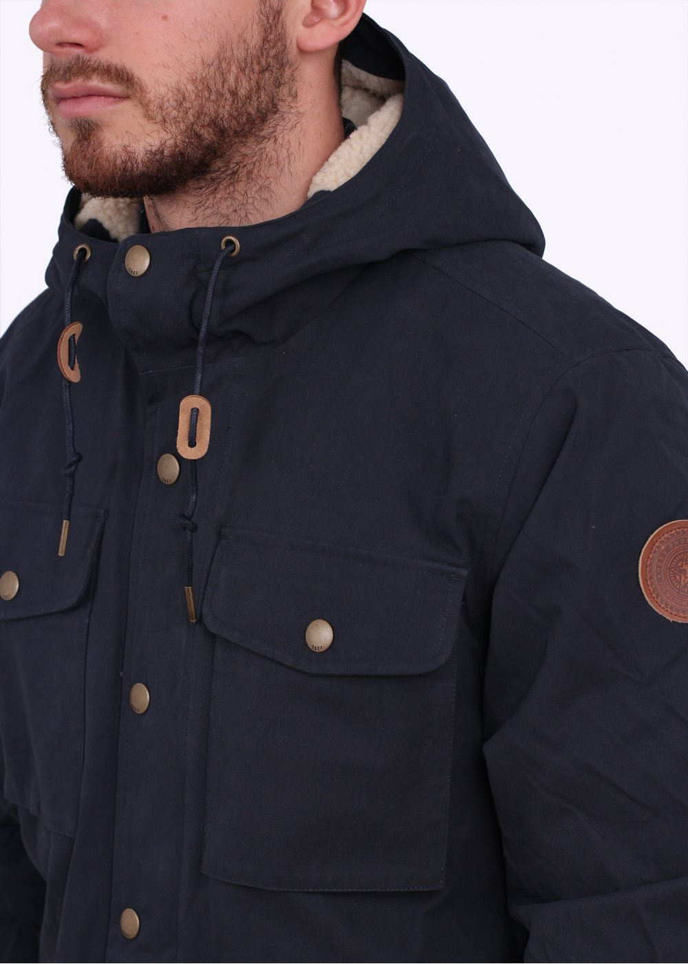 Obey Montclair Jacket - Work Navy