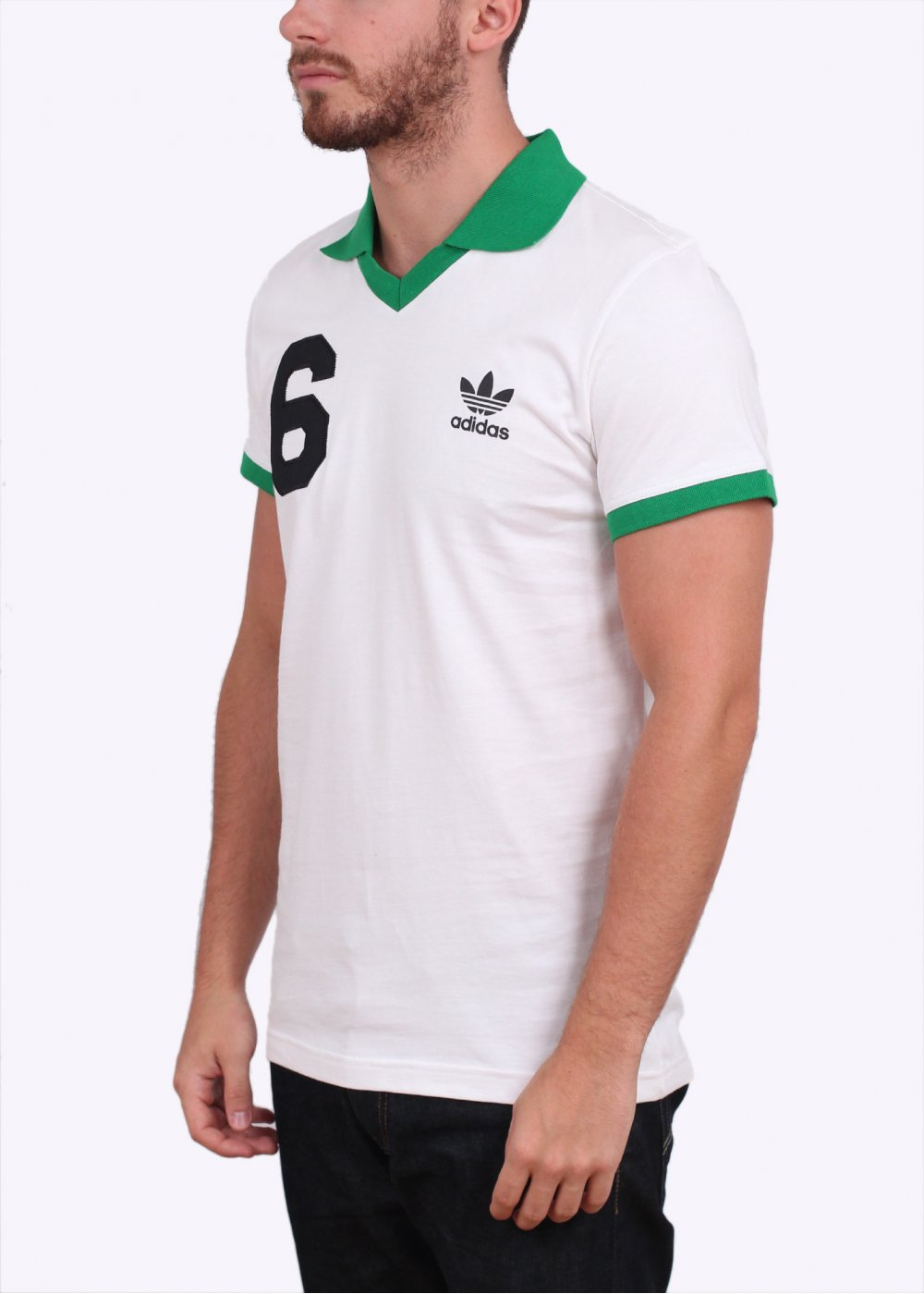 Lacoste V Neck T Shirt Mens