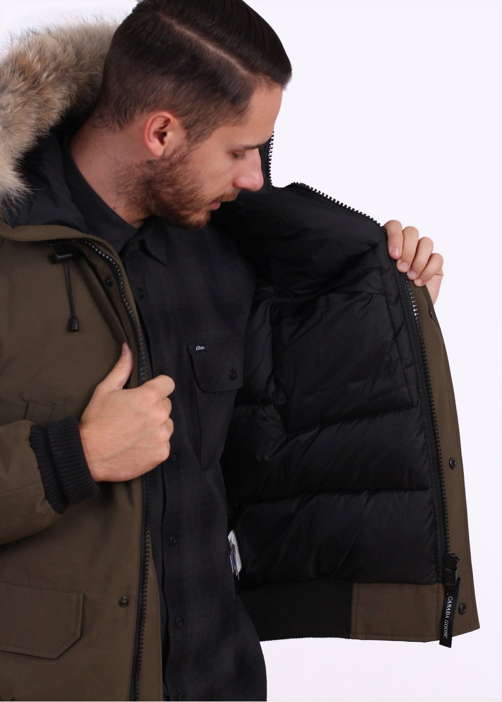 canada goose mens bomber chilliwack jackets