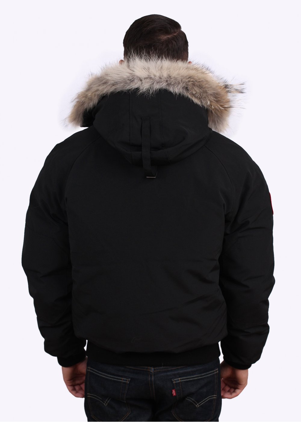 canada goose chilliwack bomber jacket black. Black Bedroom Furniture Sets. Home Design Ideas