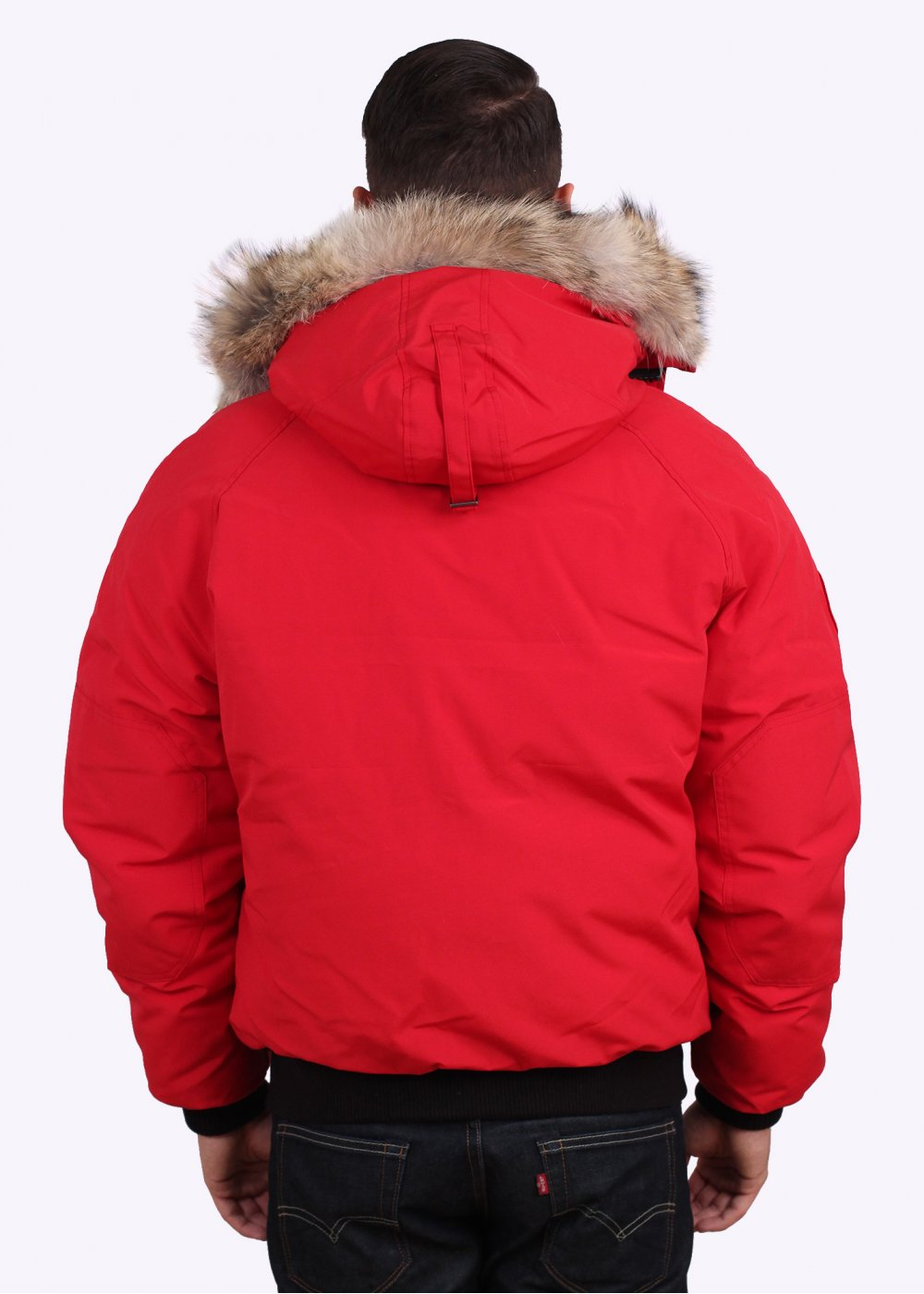 Canada Goose Chilliwack Bomber Jacket Red