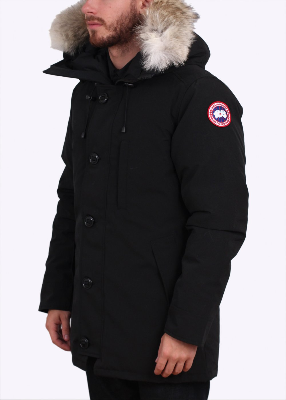 canada goose chateau parka black. Black Bedroom Furniture Sets. Home Design Ideas