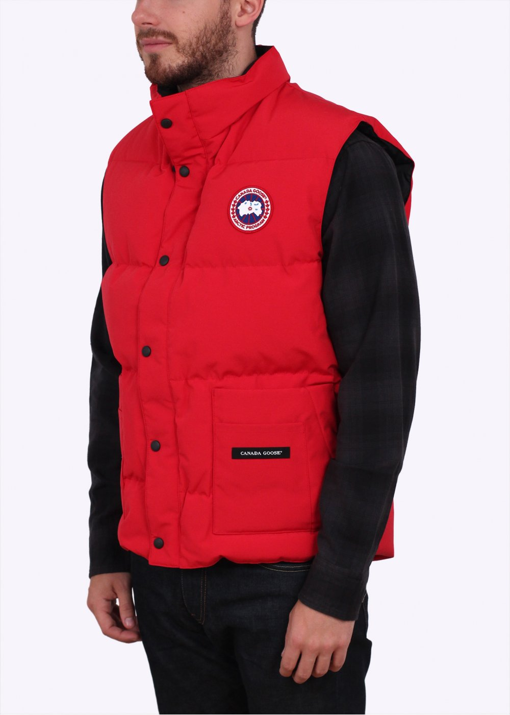 Canada Goose' Freestyle Down Vest - Men's Red, M