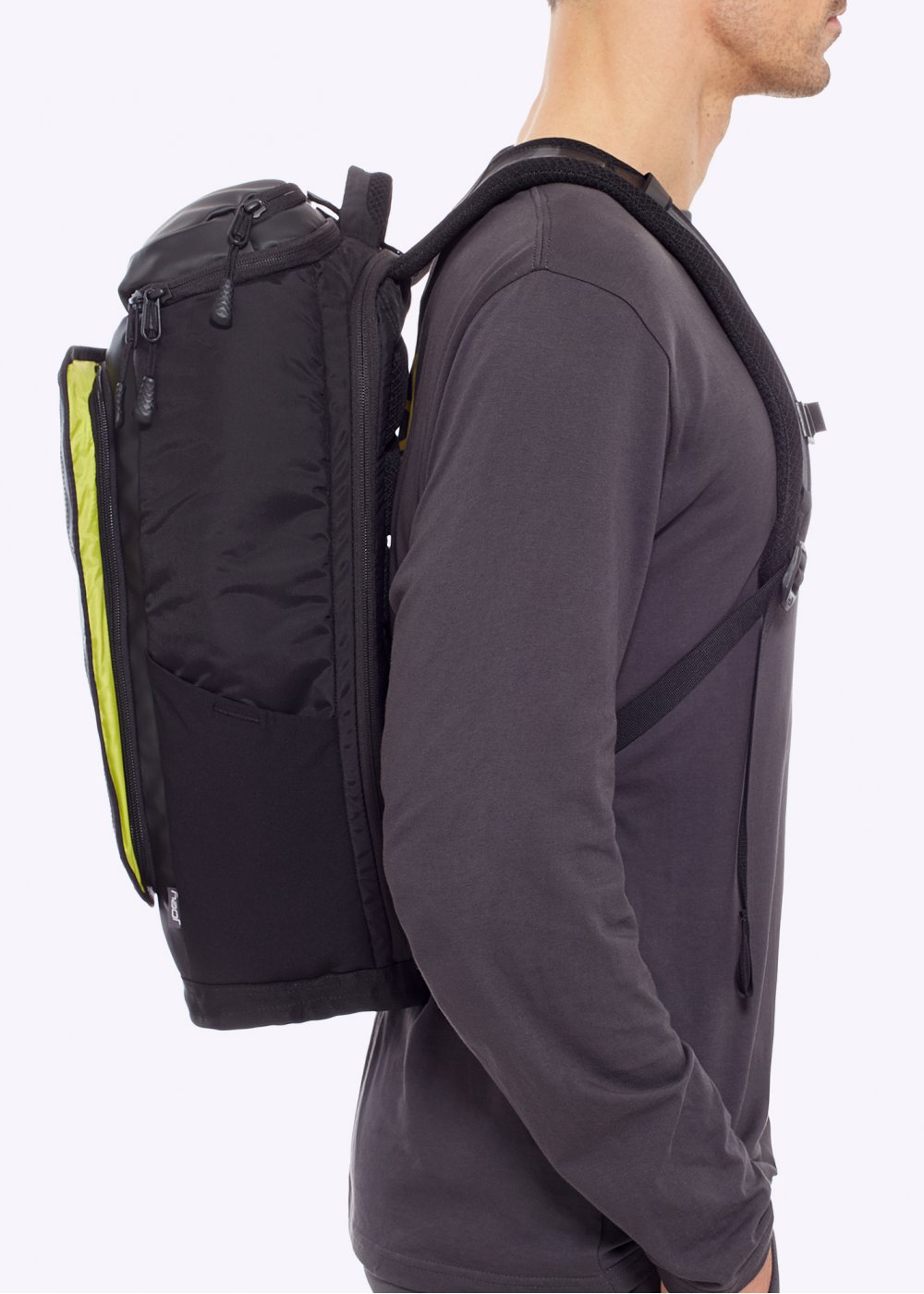 The North Face Fuse Box Charged Backpack Black