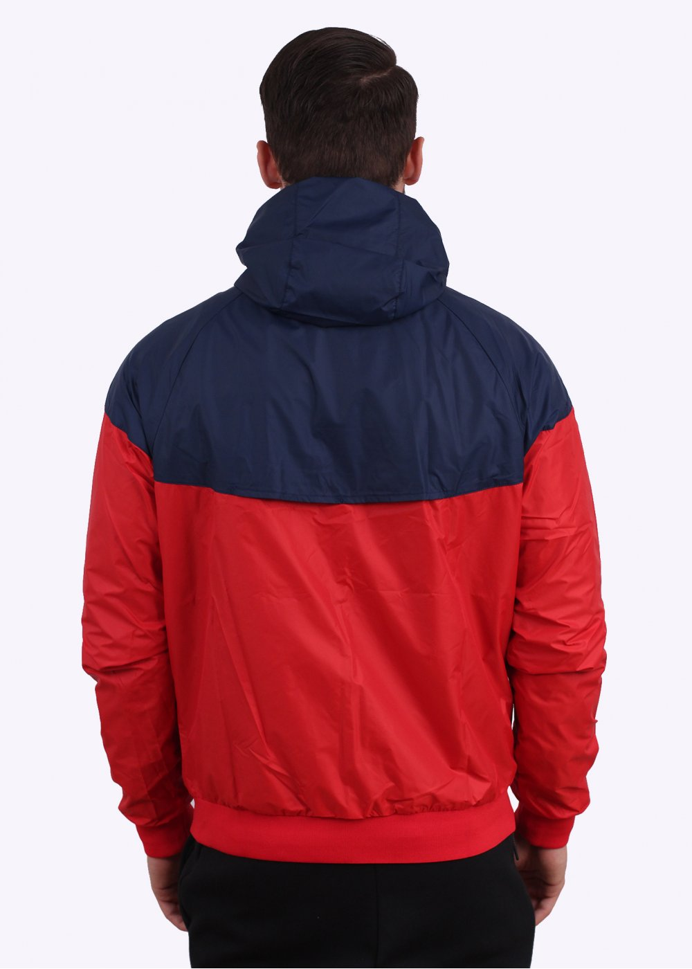 Nike Windrunner Jacket Red Navy