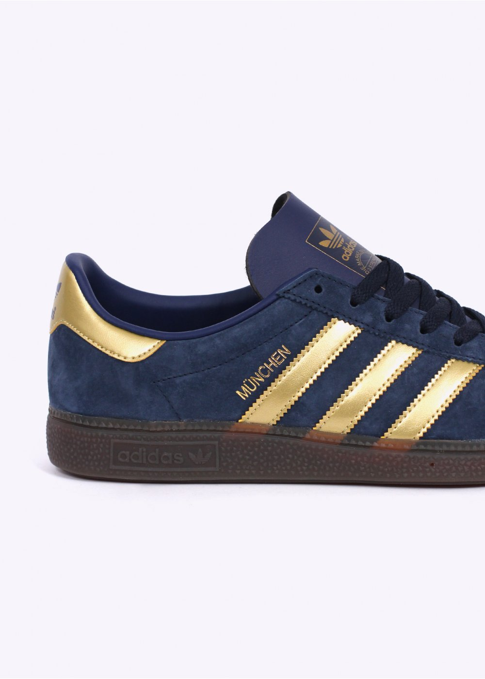 gold adidas trainers