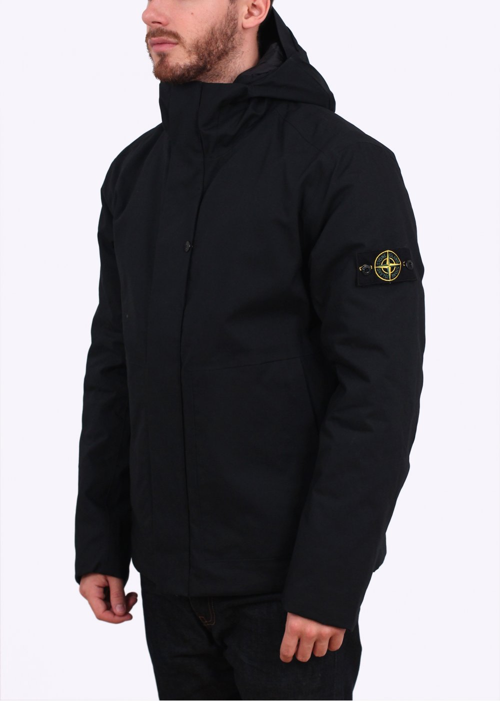 stone island 3l performance jacket black. Black Bedroom Furniture Sets. Home Design Ideas