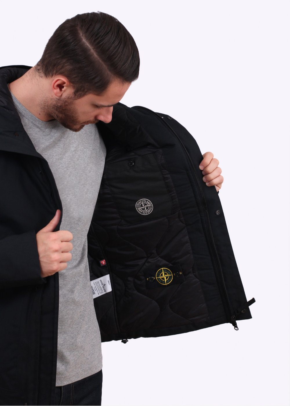 Stone Island 3l Performance Jacket Black