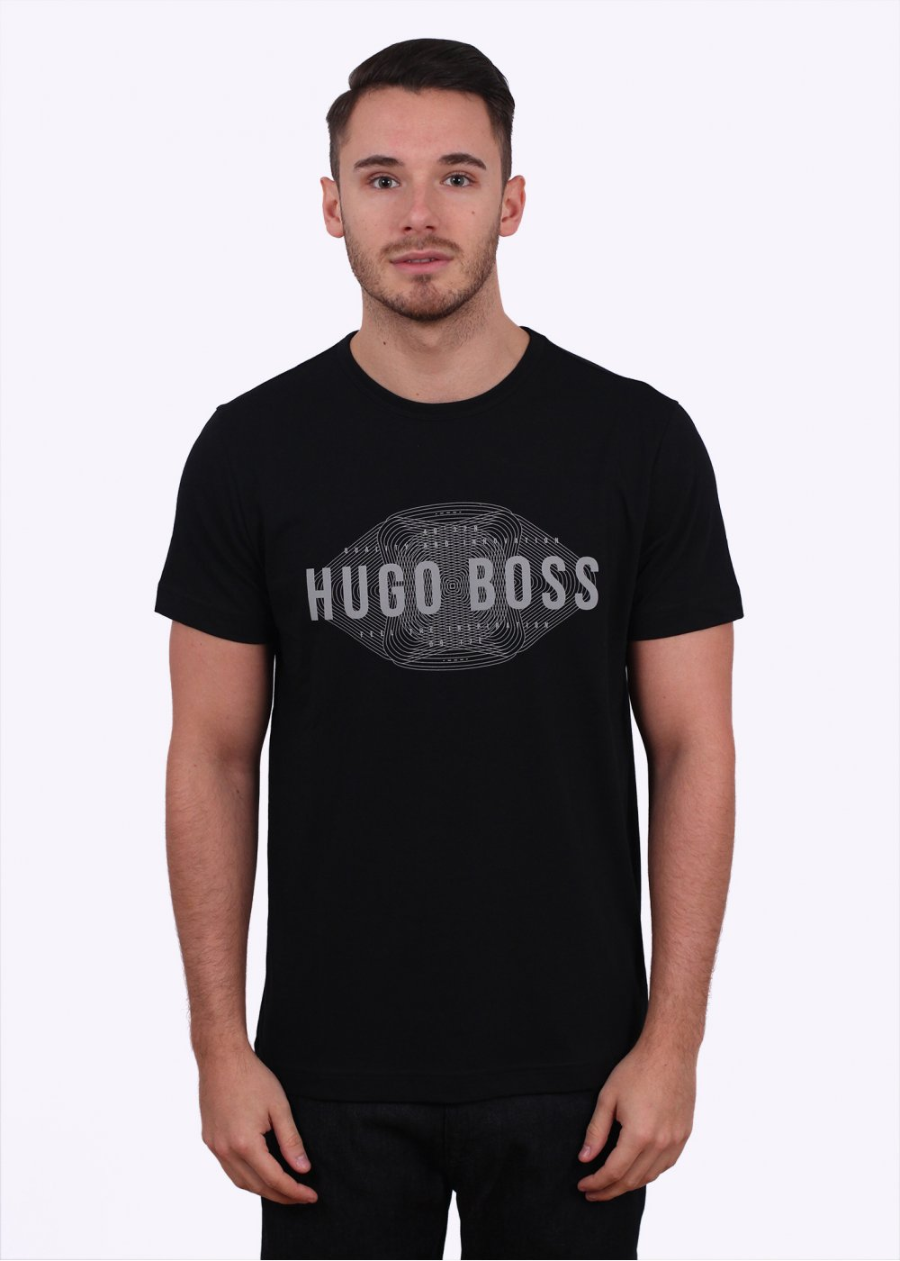 hugo boss green tee 1 black. Black Bedroom Furniture Sets. Home Design Ideas