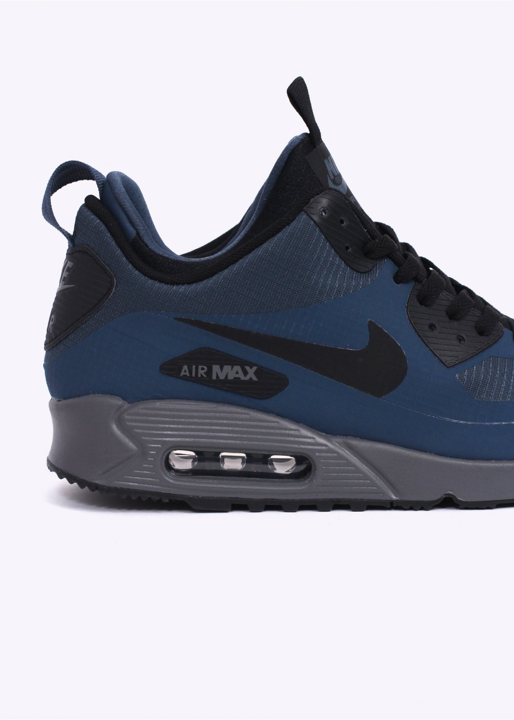 nike air max 90 mid winter sneakerboots squadron blue. Black Bedroom Furniture Sets. Home Design Ideas