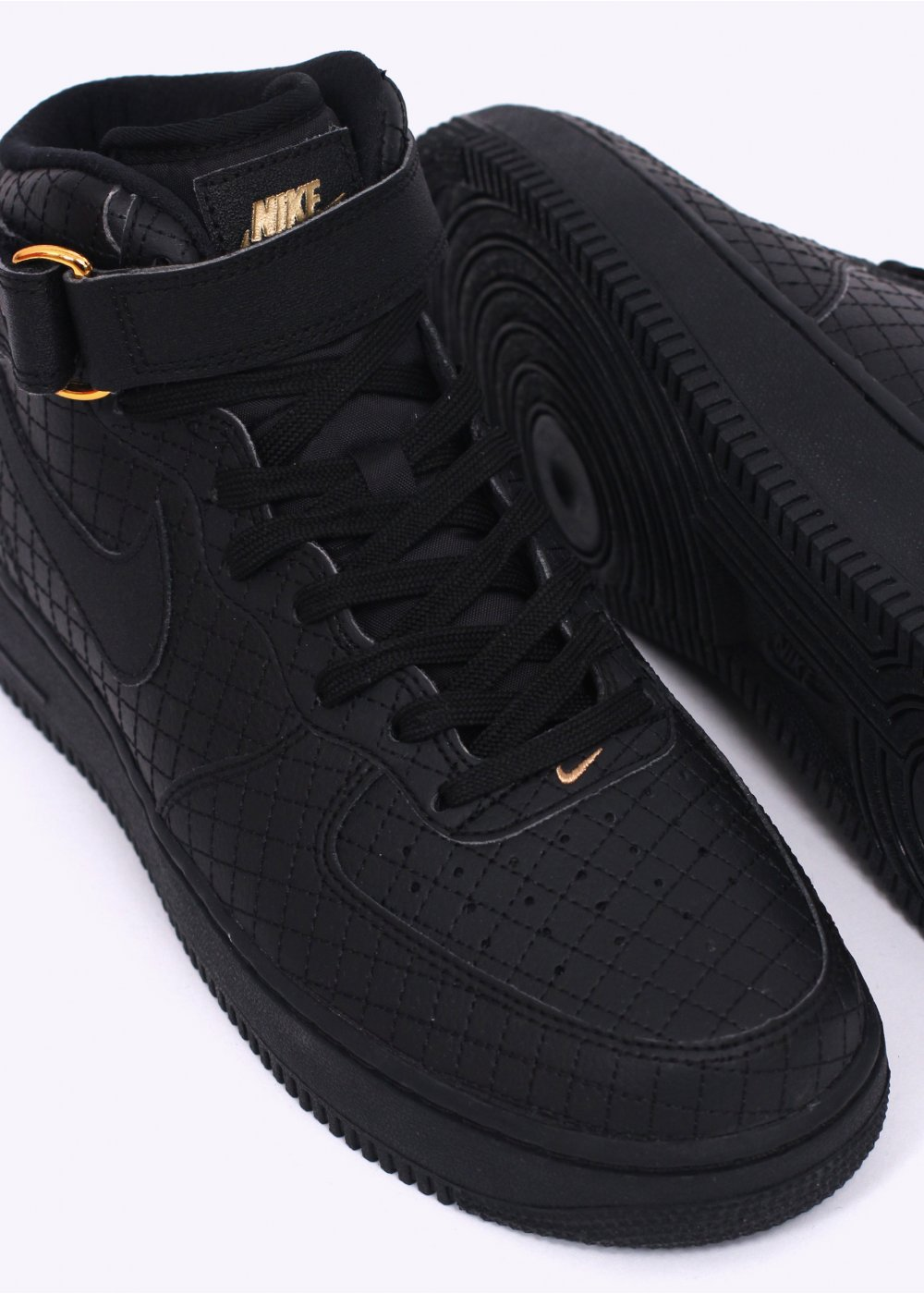 Air Force 1 Mid Black Gold