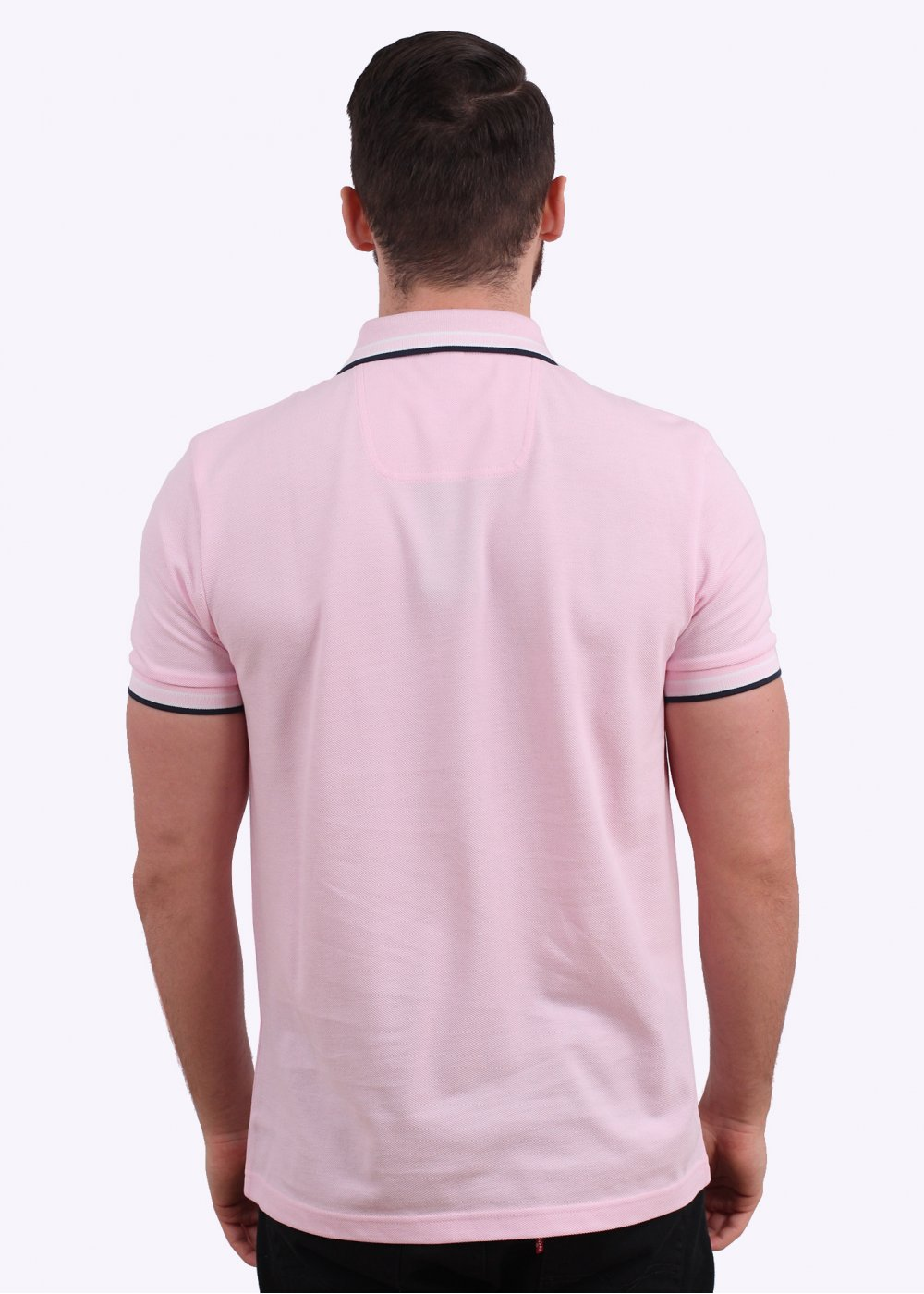 Hugo boss green paddy polo shirt bright pink for Hugo boss green polo shirt sale