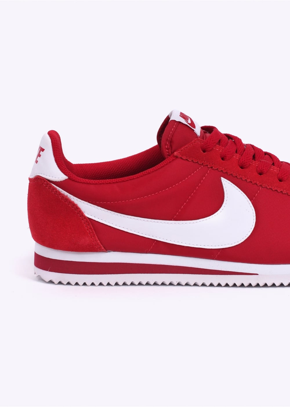 nike classic cortez nylon trainers gym red. Black Bedroom Furniture Sets. Home Design Ideas