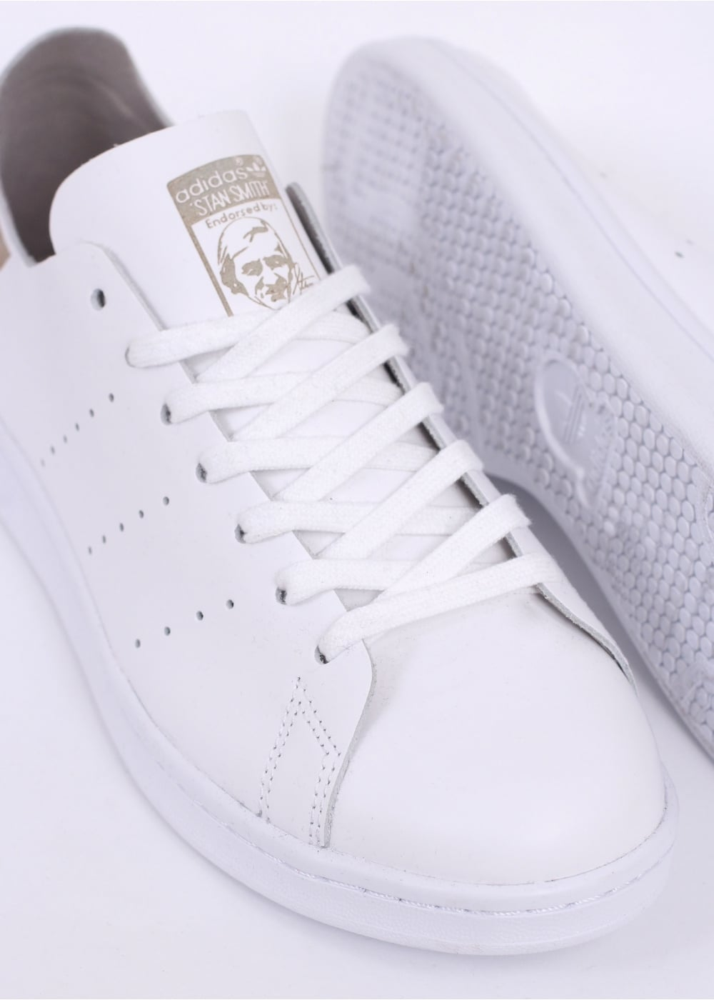 Adidas Stan Smith Deconstructed White