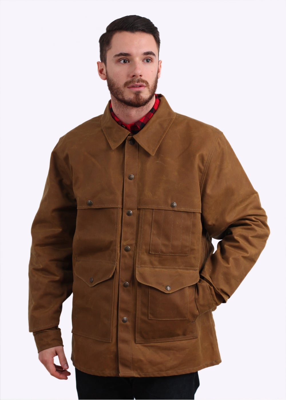Filson Tin Cloth Cruiser Jacket