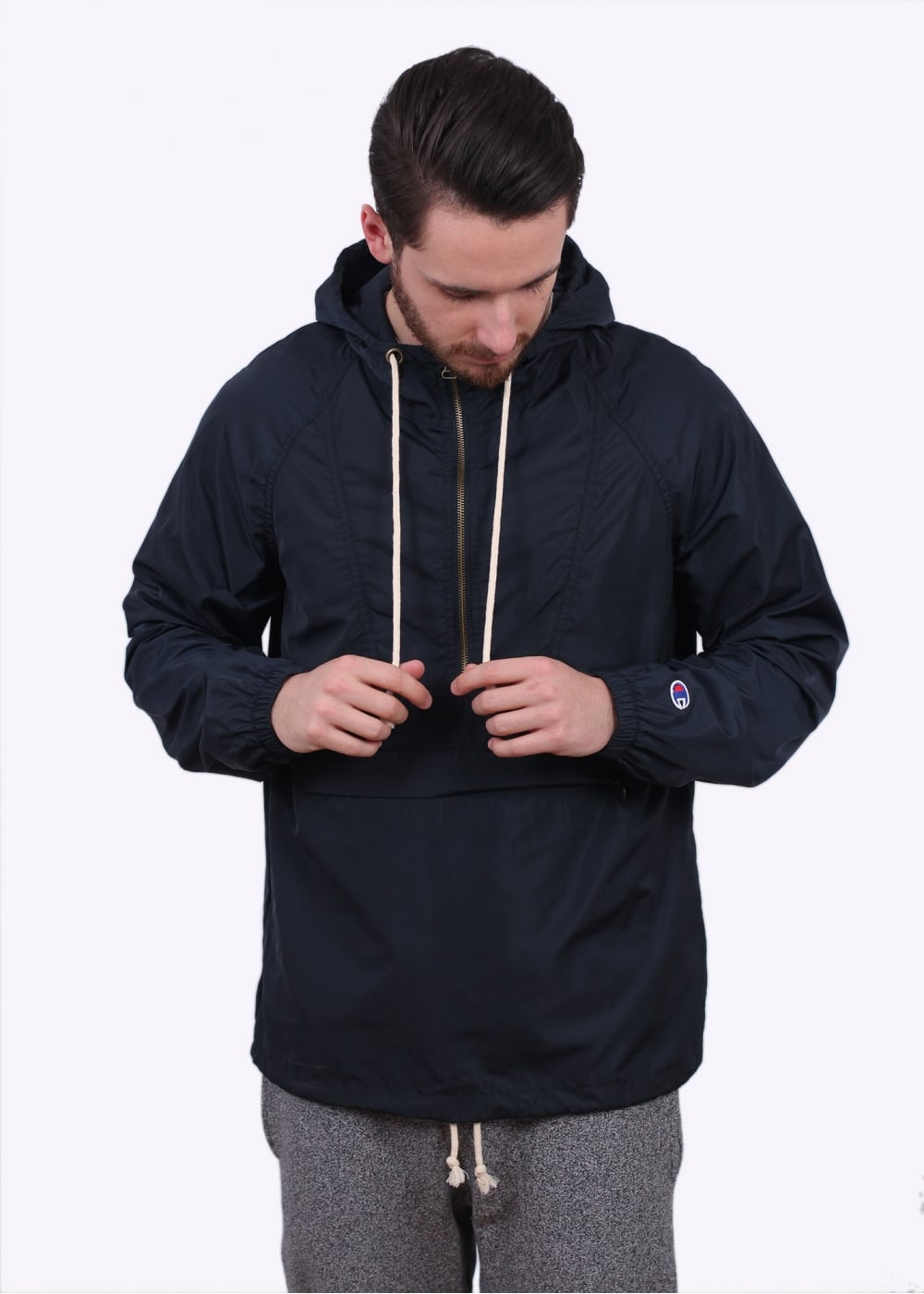 Champion Windrunner Jacket Navy Blue