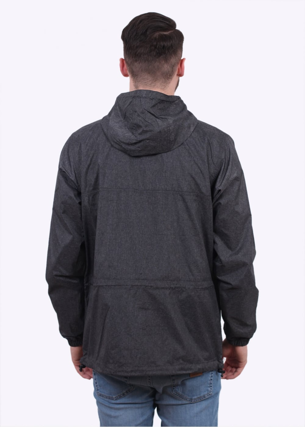 carhartt spinner pullover jacket black carhartt from triads uk. Black Bedroom Furniture Sets. Home Design Ideas