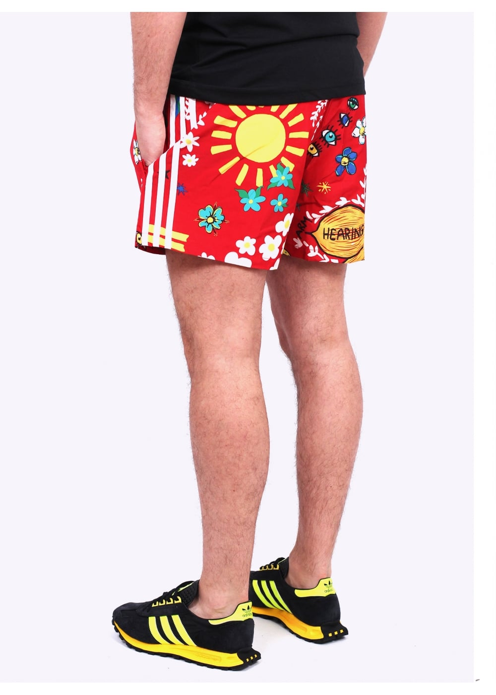 Adidas Originals Apparel x Pharrell Williams Doodle Shorts ...