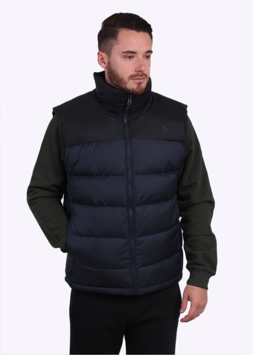 the north face nuptse 2 vest urban navy gilets from. Black Bedroom Furniture Sets. Home Design Ideas