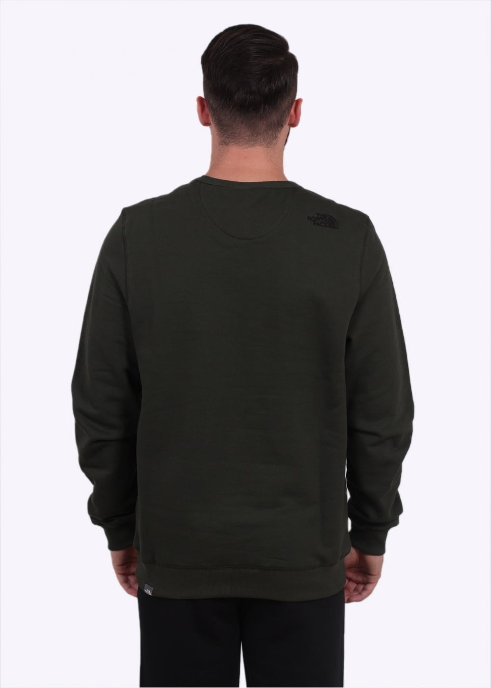 the north face street fleece pullover rosin green the. Black Bedroom Furniture Sets. Home Design Ideas
