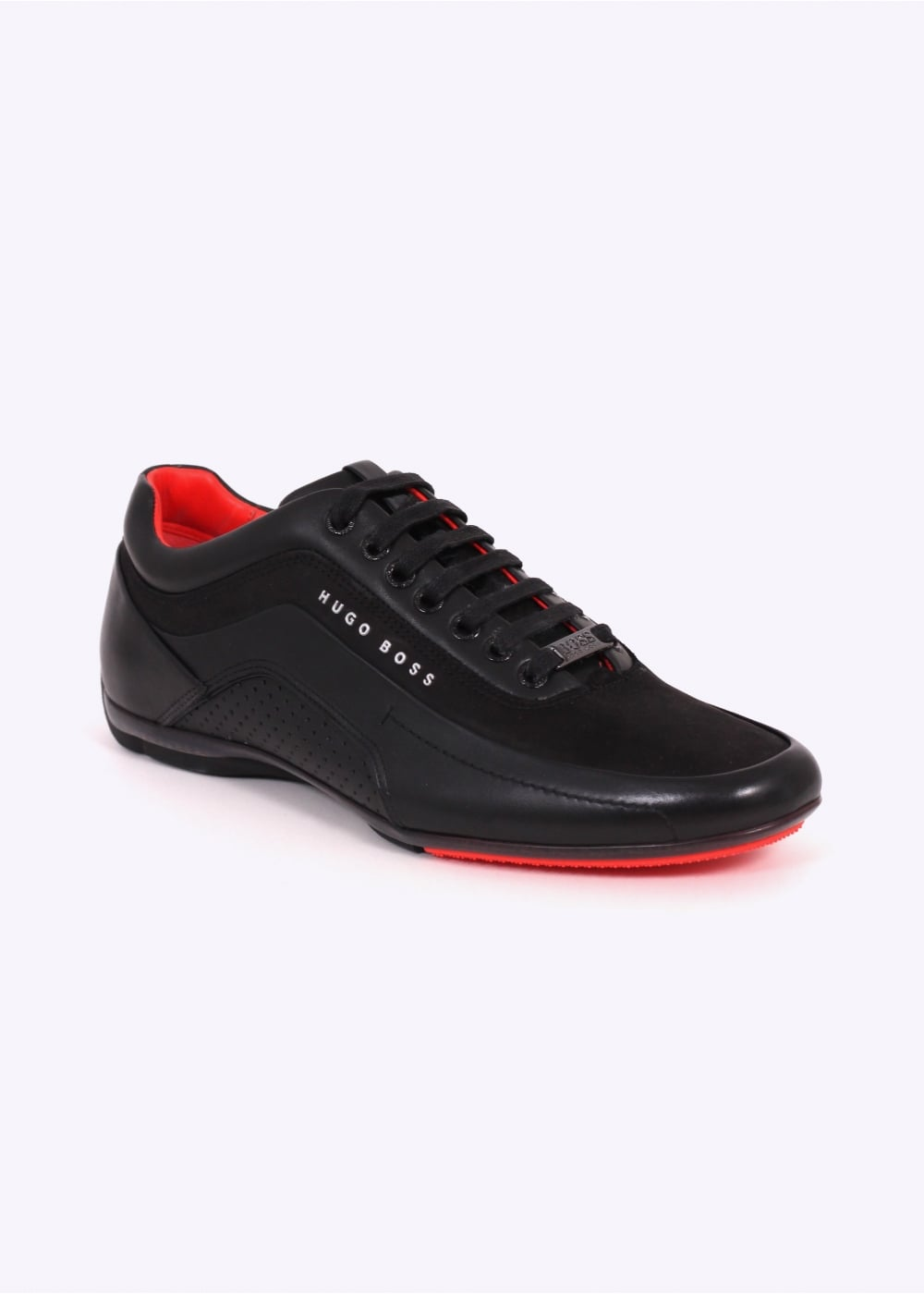 hugo boss footwear hb racing trainers black hugo boss footwear from triads uk. Black Bedroom Furniture Sets. Home Design Ideas