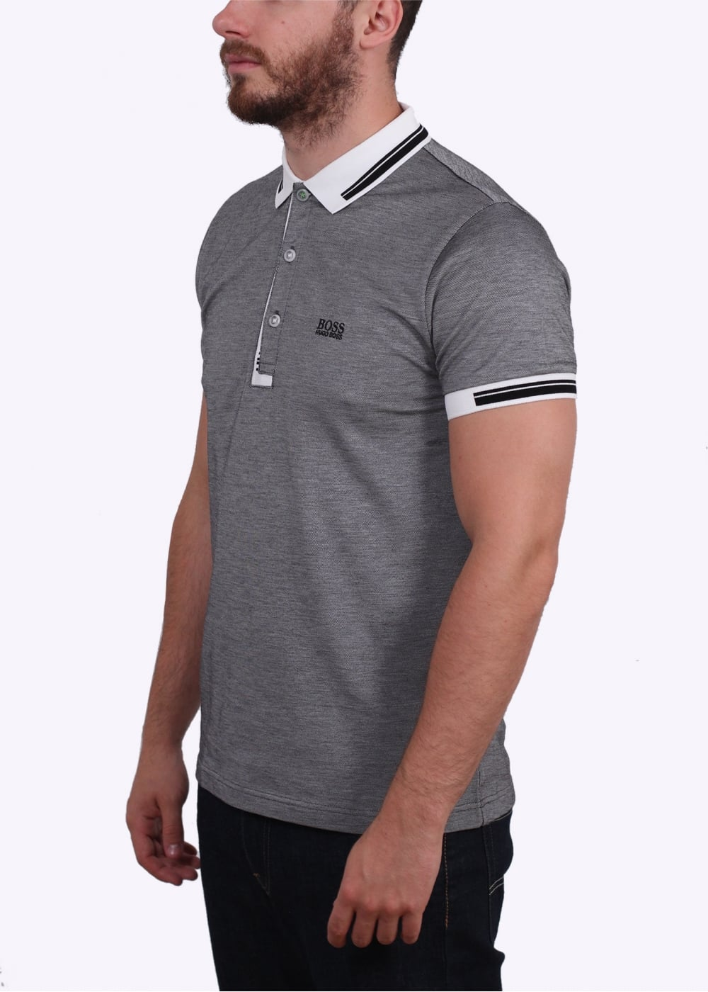 Hugo boss green paule 4 polo shirt natural hugo boss for Hugo boss green polo shirt sale