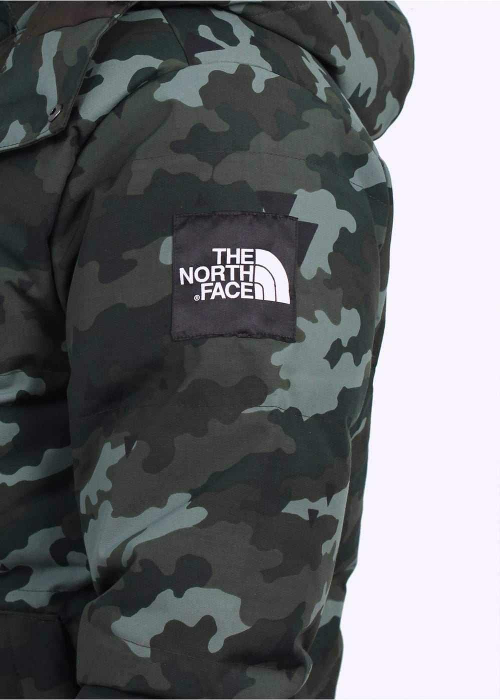 Green North Face Jacket