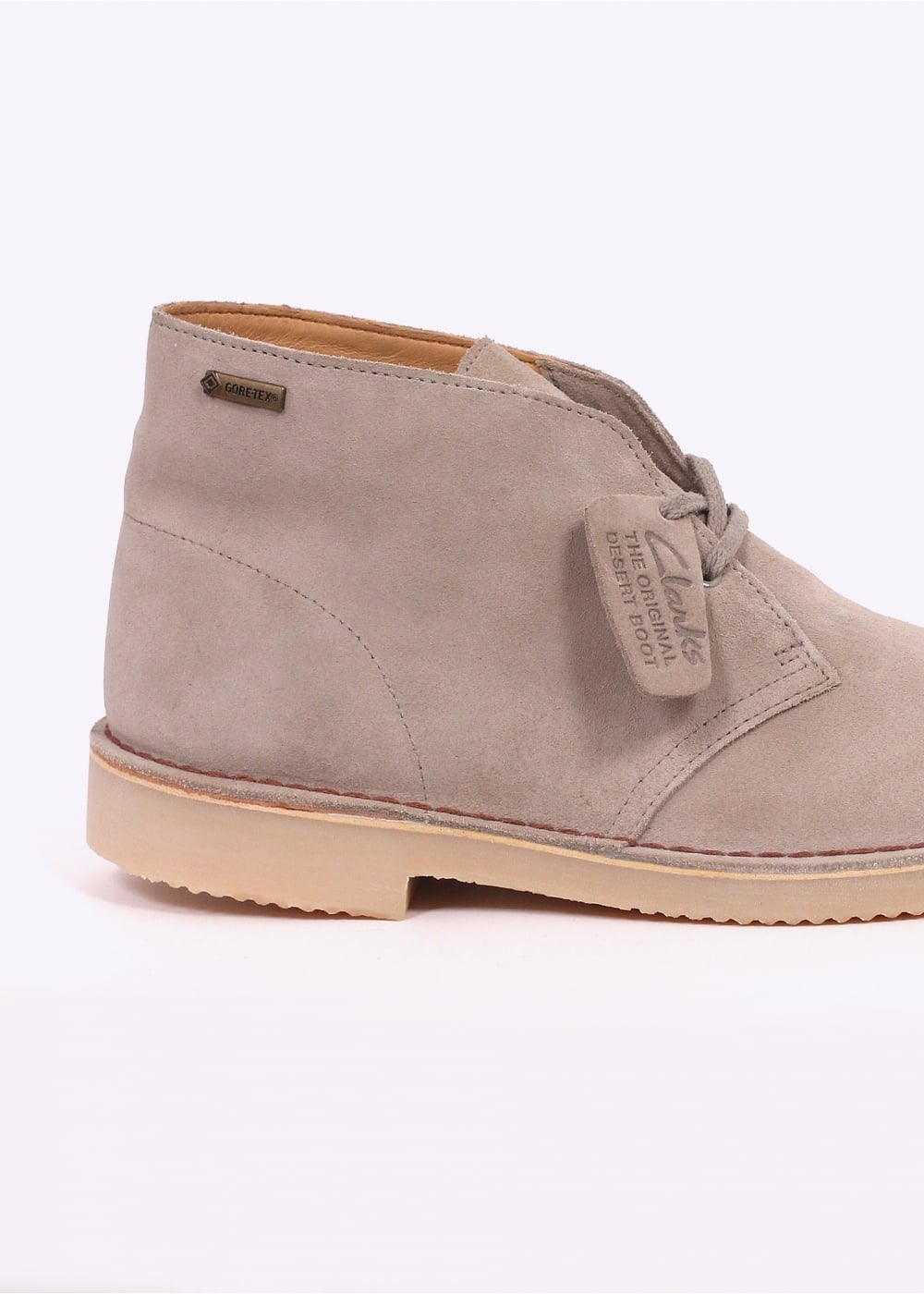 clarks originals desert boot suede gtx sand clarks originals from triads uk. Black Bedroom Furniture Sets. Home Design Ideas