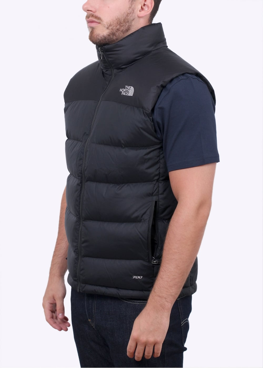 the north face nuptse 2 vest black the north face from. Black Bedroom Furniture Sets. Home Design Ideas