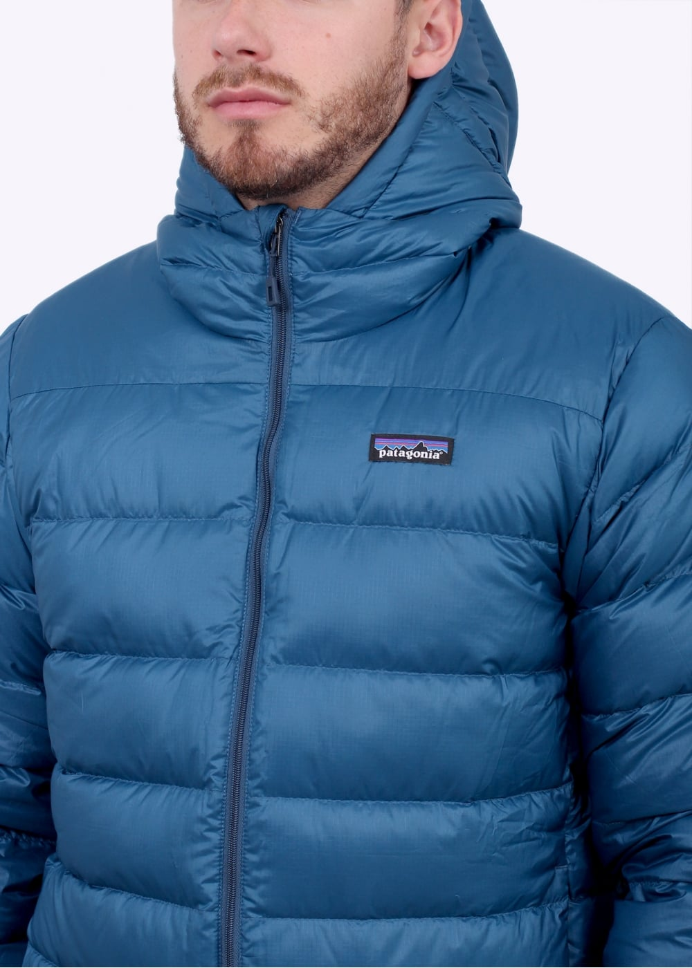 Patagonia Hi Loft Down Hoody Glass Blue Patagonia From