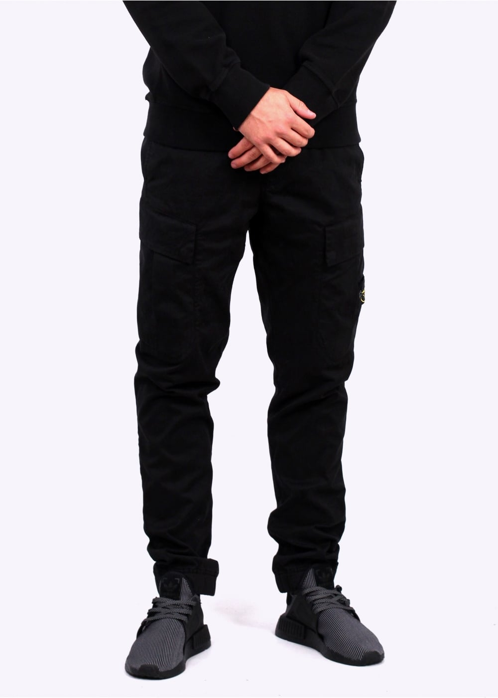 Discover men's trousers & chinos on sale at ASOS. Choose from the latest collection of trousers & chinos for men and shop your favourite items on sale. ASOS DESIGN slim trousers in black with white & yellow side stripe. Jack and Jones Cuffed Slim Fit Jogger.