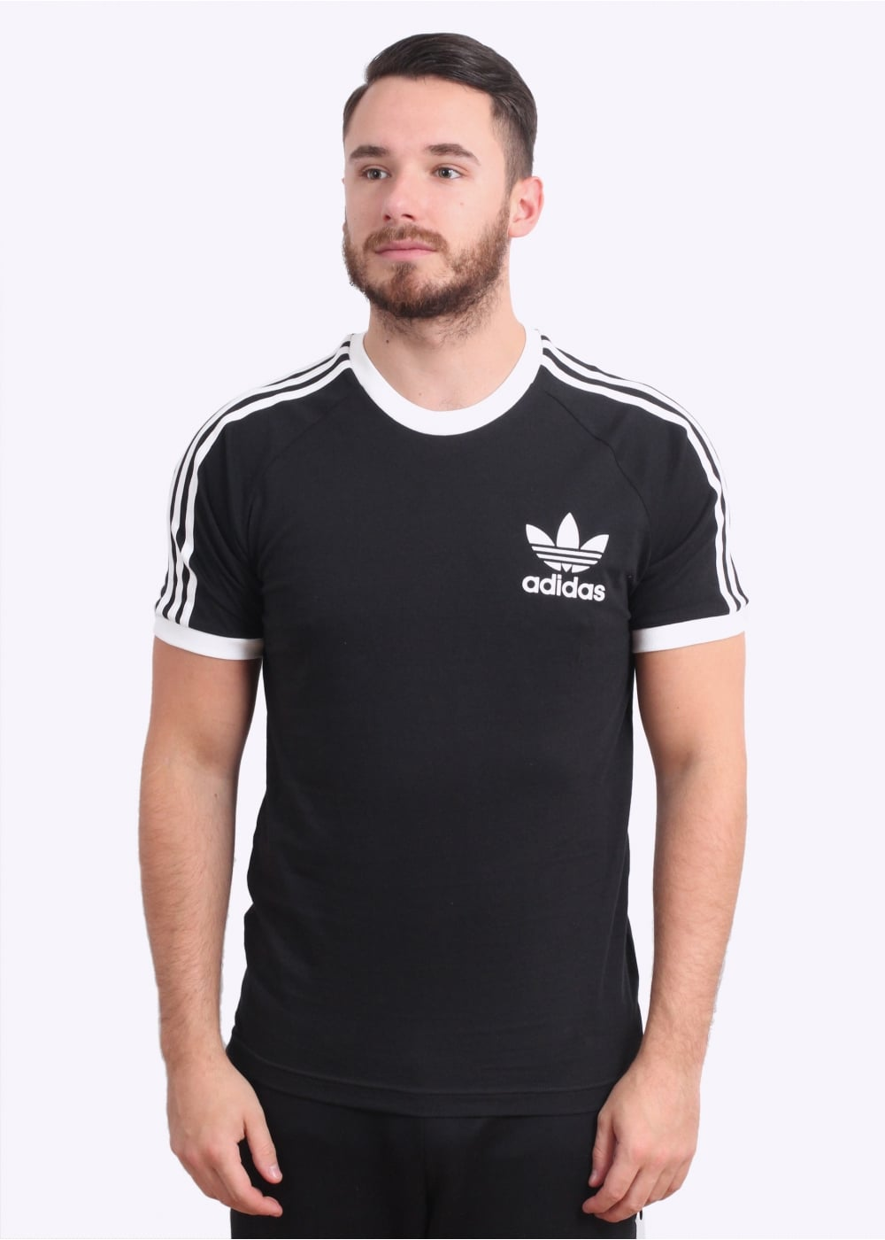 adidas originals apparel california tee black triads. Black Bedroom Furniture Sets. Home Design Ideas