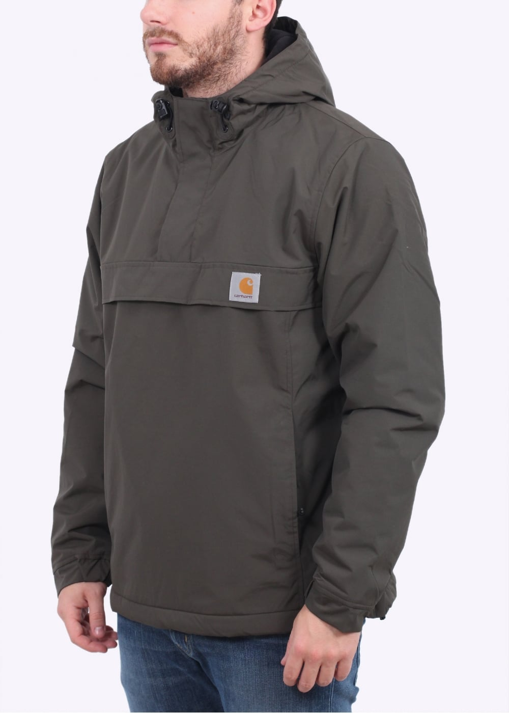 carhartt nimbus pullover jacket cypress carhartt from triads uk. Black Bedroom Furniture Sets. Home Design Ideas