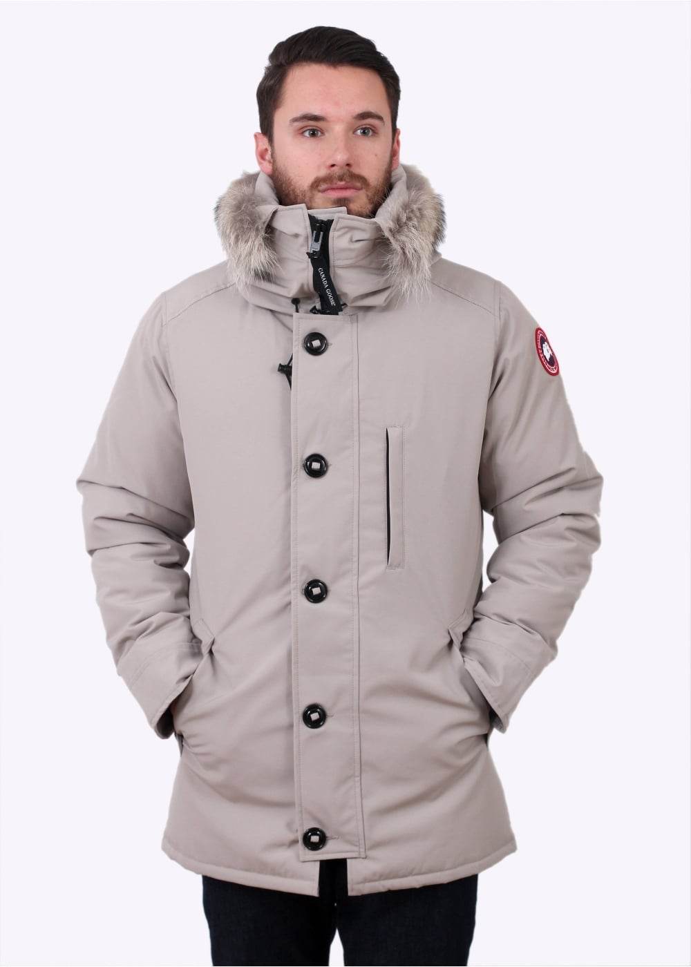 Canada Goose Outlet Chateau Parka Men Black With Highly ...